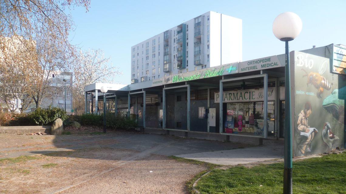 D molition logements et centre commercial massy 91 binet travaux publics - Massy centre commercial ...