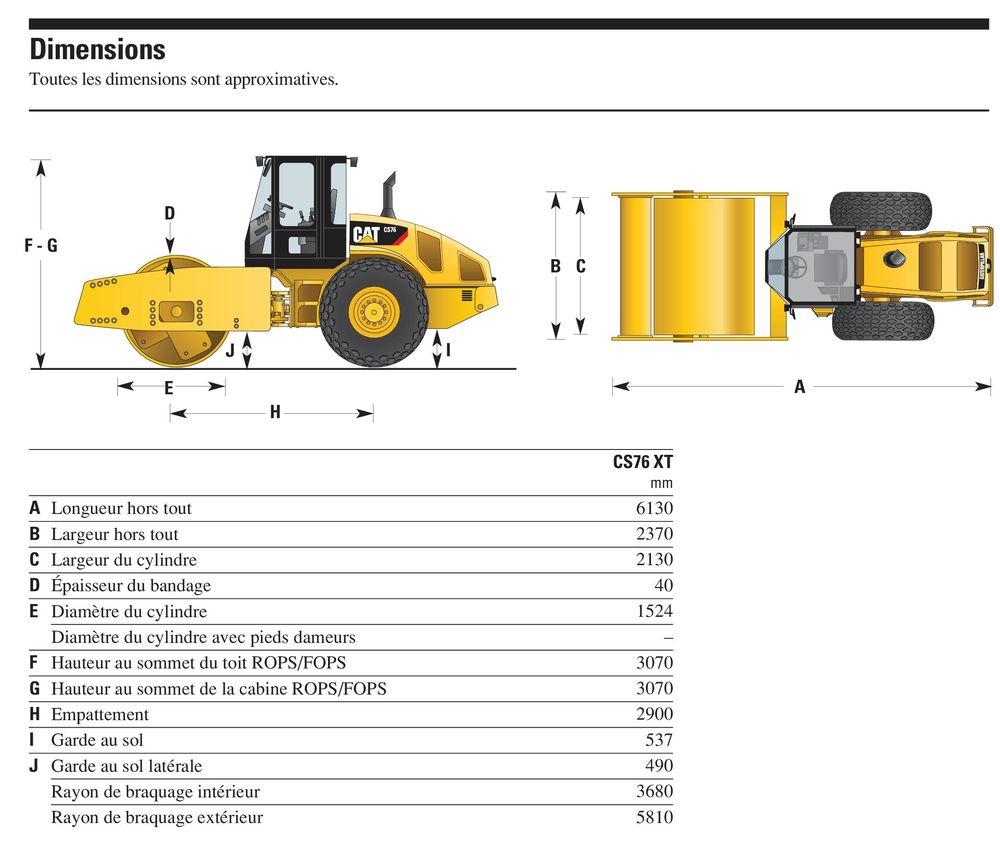 Caterpillar CS76 XT