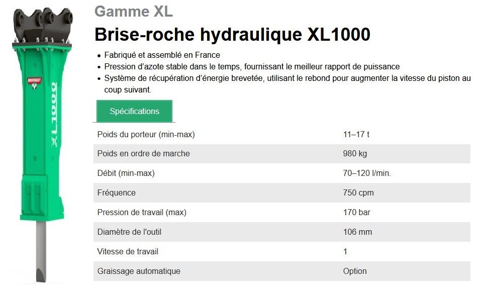 BRH Montabert XL1000